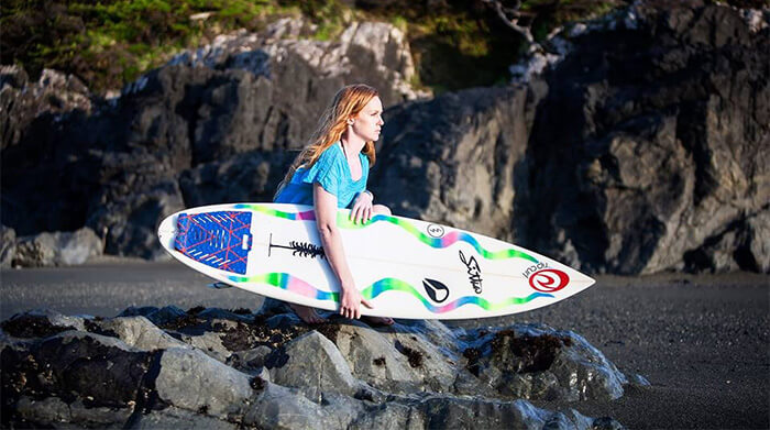 Leah Oke: making waves in different corners of the globe